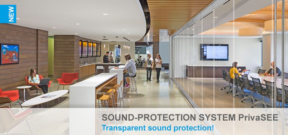 Sound-protection system PrivaSEE